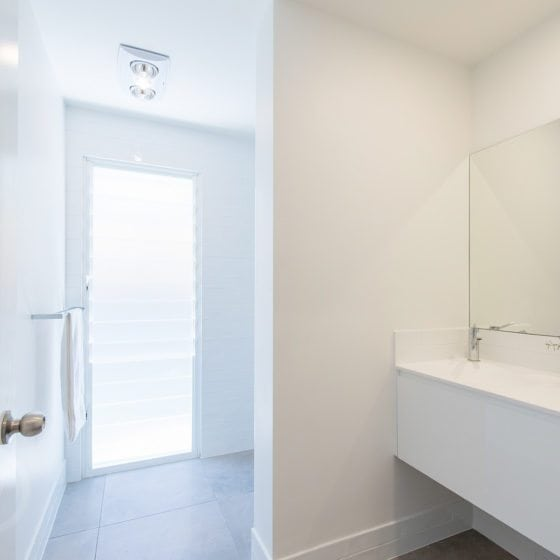 bathroom white walls in brisbane house