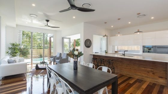open plan living brisbane