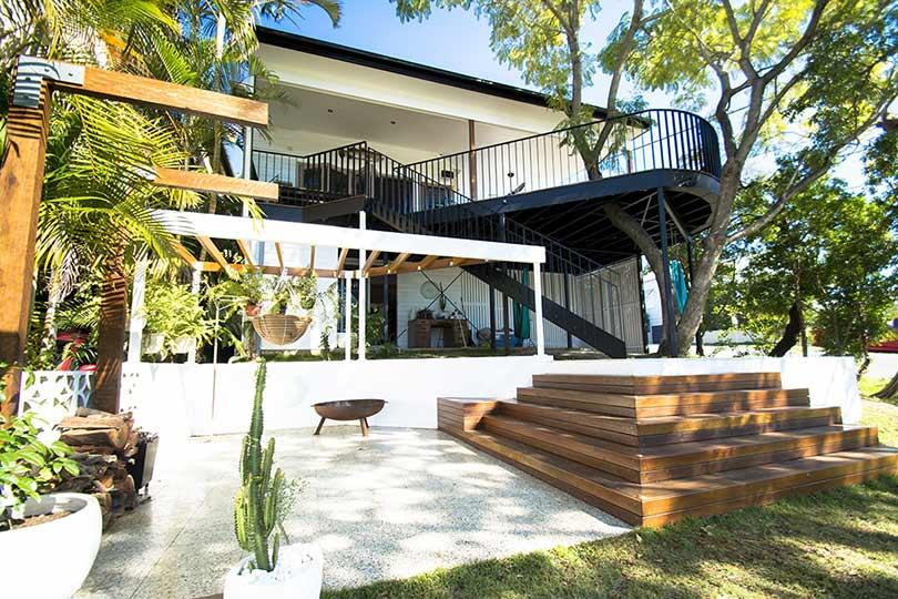 amazing builds multi level backyard entertainment areas