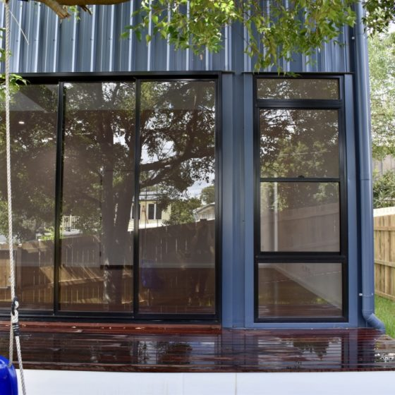 amazing builds granny flat deck windows