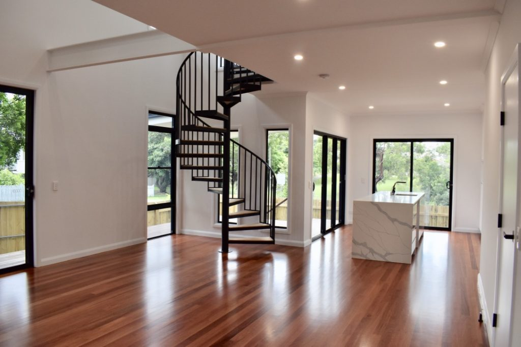 amazing builds granny flat downstairs