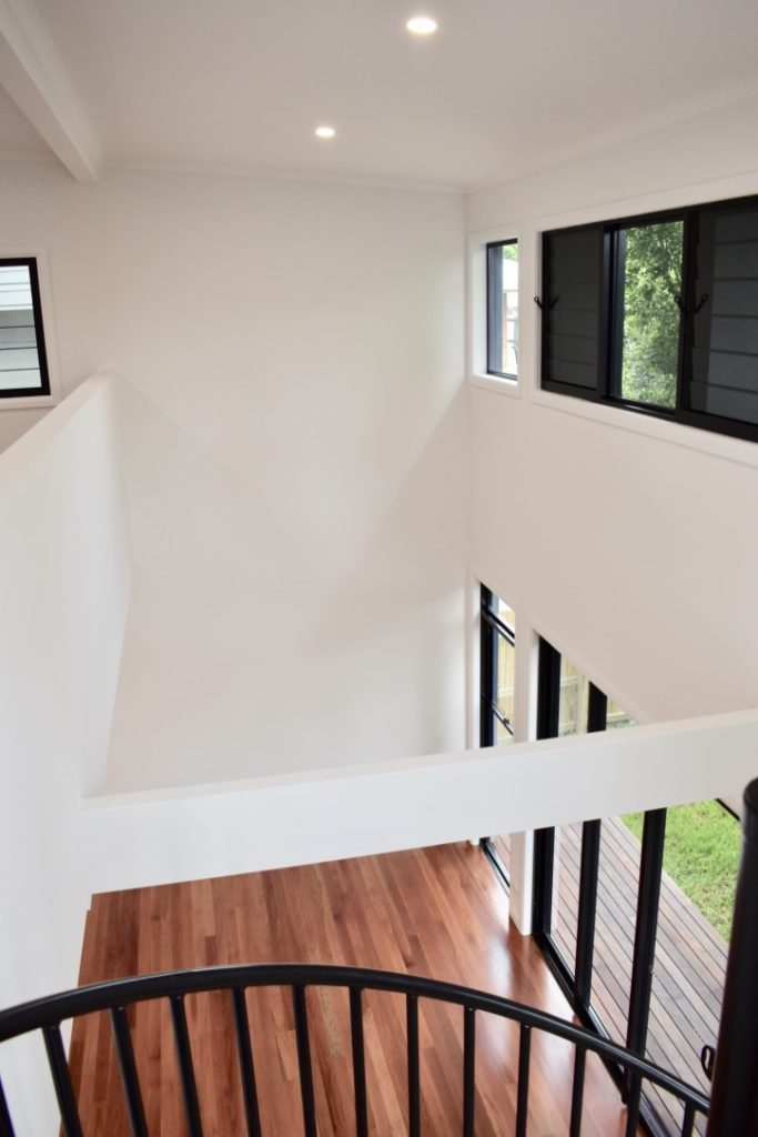 amazing builds granny flat upstairs